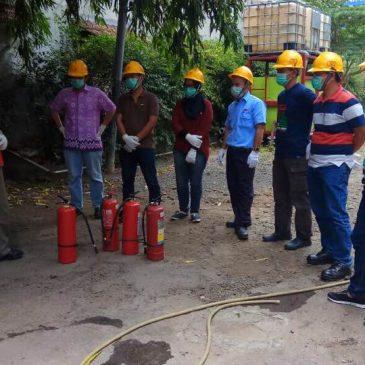 Pelatihan kebakaran kelas D, 5 – 7 September 2017