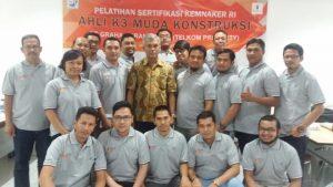 Pelatihan Ahli K3 Muda Konstruksi PT. Graha Sarana Duta, 4 – 8 September 2017