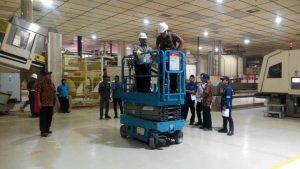 Pelatihan K3 Scissor lift PT HM Sampoerna 04 s.d 06 September 2017