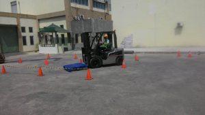Pelatihan K3 Operator Forklift Publik tgl 12 s.d 14 September 2017