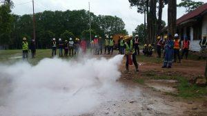 Pelatihan Fire C dan D, Sertifikasi Kemnakertrans RI Publik – Ketapang, 25 September s.d 1 Oktober 2017