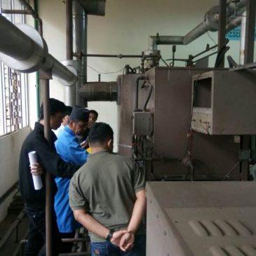 Pelatihan K3 Operator Boiler Kelas I dan Kelas II Publik 11 s.d 16 September 2017