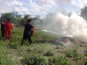 Pelatihan Petugas Kebakaran Kelas D Inhouse PT. Mahkota Andalan Sawit Muara Enim-Sumatra Selatan, 18 s.d 20 Oktober 2017