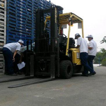 Pelatihan K3 Operator Forklift PT. Best Logistics Service – karawang, 02 s.d 04 November 2017