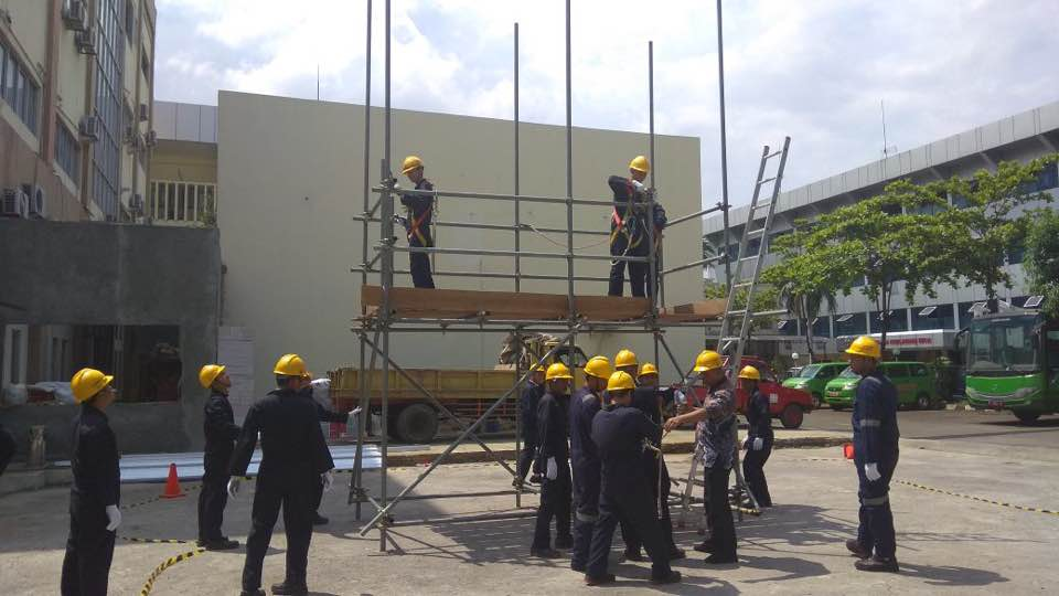Pelatihan K3 Supervisi Perancah Publik, 13 s.d 17 November 2017