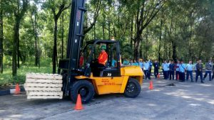 Pelatihan K3 Operator Forklift Inhouse PT Pindo Deli Pulp & Paper, 22 s.d 24 Januari 2018