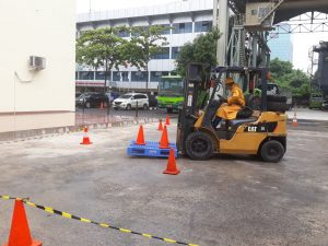 Pelatihan K3 Operator Forklift Publik, 16 s.d 18 Januari 2018