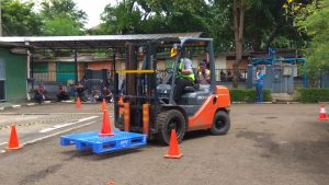 Pelatihan K3 Operator Forklift Publik, 23 s.d 25 Januari 2018