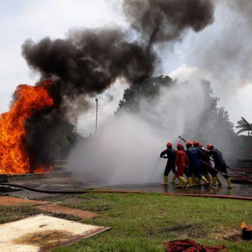 Pelatihan Regu Kebakaran Kelas C (Fire C) Inhouse PT Frisian Flag Indonesia, 29 Januari s.d 02 Februari 2018