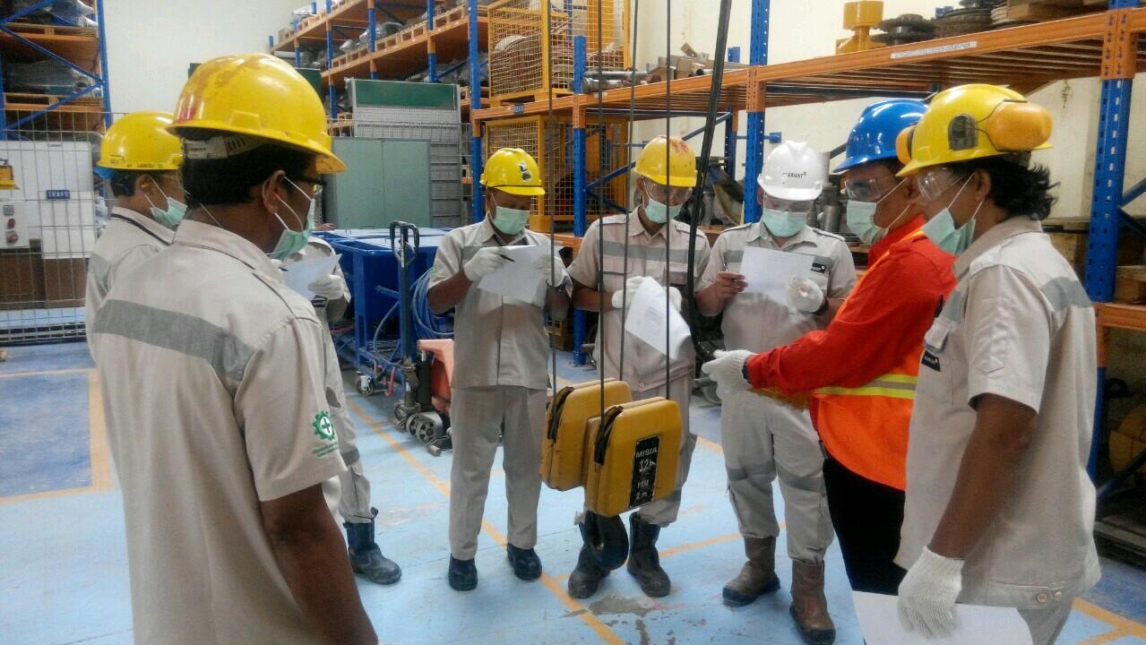 Pelatihan Operator Crane PT Clariant Indonesia, 07 s.d 09 Maret 2018
