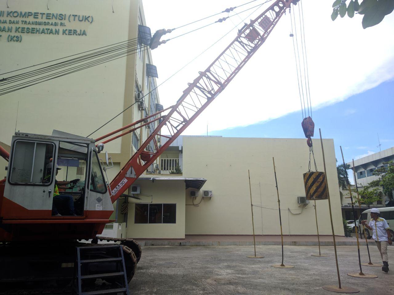 Pelatihan Operator Crane Kelas 2 dan 3 Publik, 06 s.d 09 Maret 2018