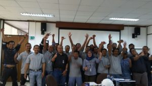 Pelatihan Juru Ikat (Rigger) Inhouse PT Siemens Indonesia, 24 s.d 26 April 2018