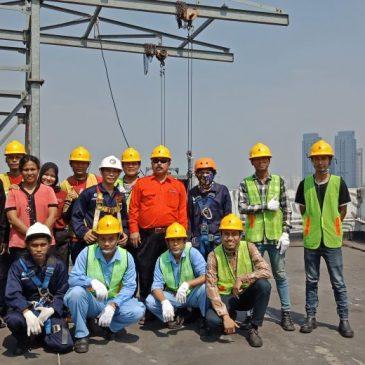 Pelatihan K3 Operator Gondola Publik, 07 s.d 09 Mei 2018