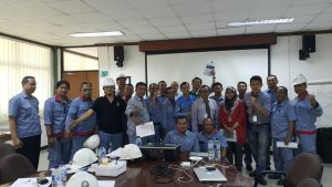 Pelatihan Behaviour Basic Safety Inhouse PT Siemens Indonesia, 07 s.d 08 Mei 2018