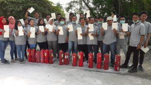 Pelatihan Petugas Kebakaran Kelas D (Fire D) Inhouse PT FREETREND, 07 s.d 09 Mei 2018