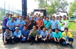 Pelatihan K3 Operator Forklift Inhouse PT Darma Henwa, 30 April s.d 02 Mei 2018
