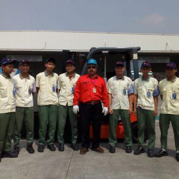 Pelatihan K3 Operator Clamplift Inhouse PT Yamaha Music Mfg Indonesia, 26 Mei 2018