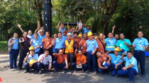 Pelatihan K3 Operator Forklift Inhouse PT Pindo Deli Pulp & Paper, 07 s.d 09 Mei 2018