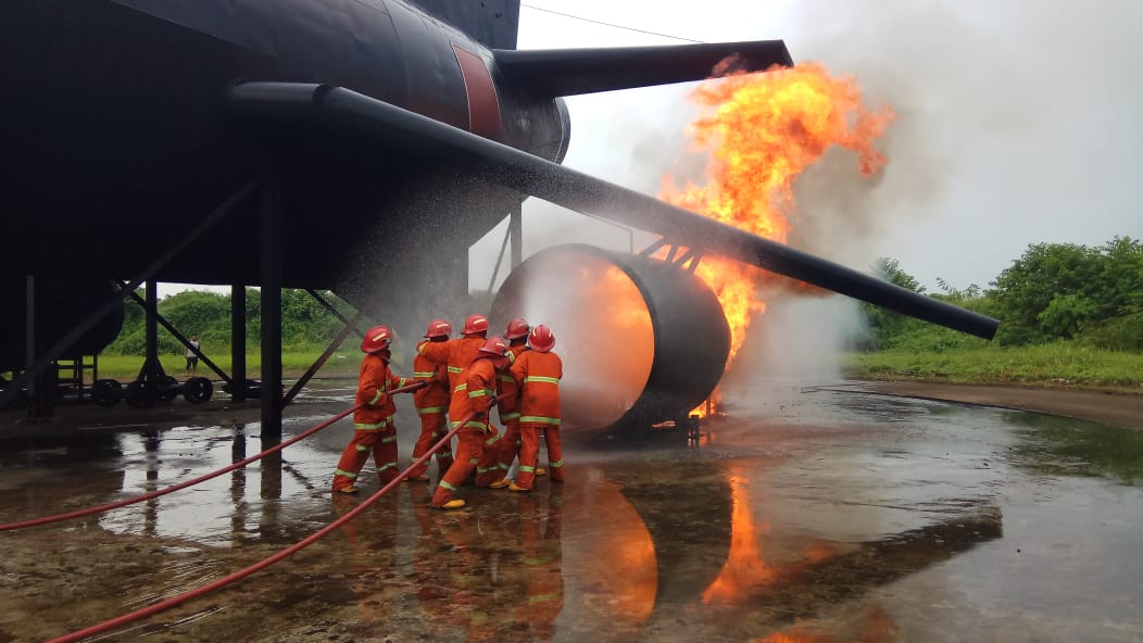 Pelatihan Petugas Kebakaran Kelas D (Fire D) Inhouse PT Krakatau Posco, 14 s.d 15 Mei 2018