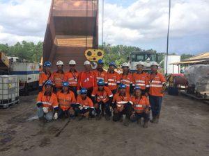 Pelatihan K3 Operator Forklift Inhouse PT Pindo Deli Pulp & Paper, 02 s.d 04 Mei 2018