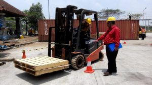 Pelatihan K3 Operator Forklift Inhouse PT HM Sampoerna, 22 s.d 26 Oktober 2018 Jakarta