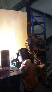 Pelatihan K3 Welding Inhouse PT Cikarang Listrindo, 29 Oktober s.d 03 November 2018