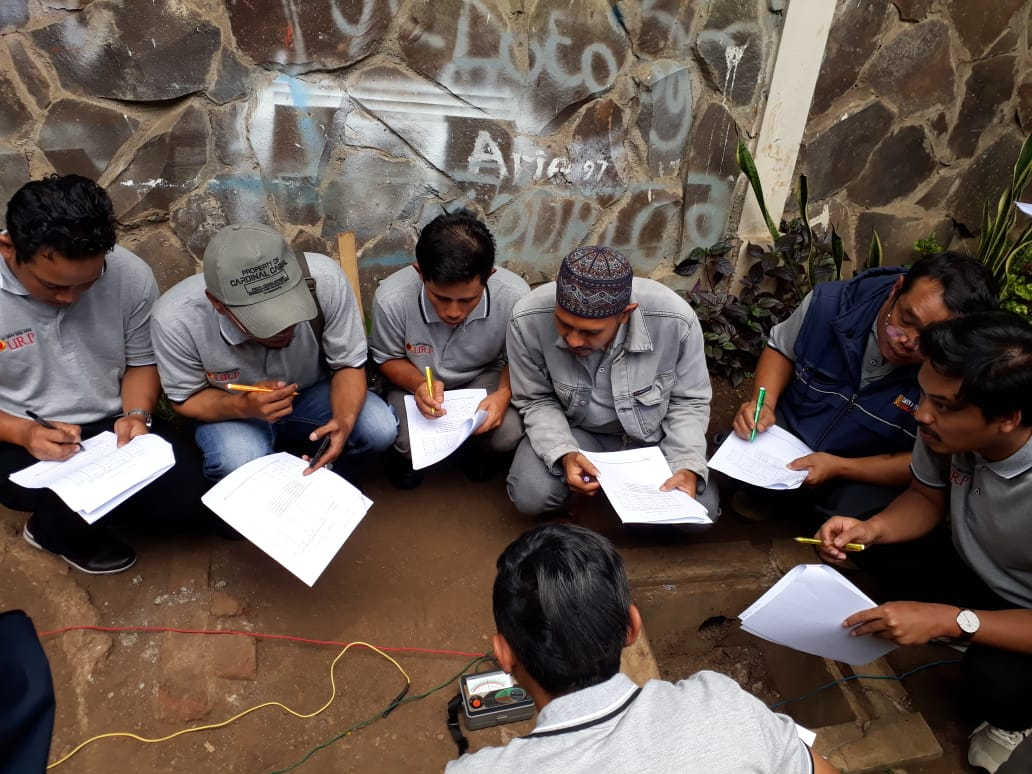 Pelatihan Petugas K3 Teknisi Listrik Publik, 12 s.d 16 November 2018