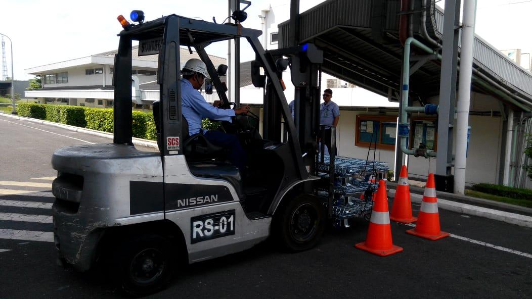 Pelatihan K3 Operator Forklift Inhouse PT Yamaha Motor Part, 13 s.d 15 November 2018