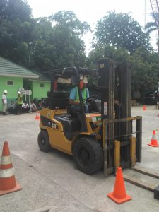 Pelatihan K3 Operator Forklift Publik, 21 s.d 23 November 2018 Jakarta