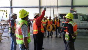 Pelatihan Juru Ikat (Rigger) Inhouse PT Freeport Indonesia, 04 s.d 06 Desember 2018, Papua