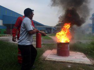 Pelatihan Petugas Kebakaran Kelas D (Fire D) Inhouse PT Argha Karya Prima Industry, 28 s.d 29 November 2018
