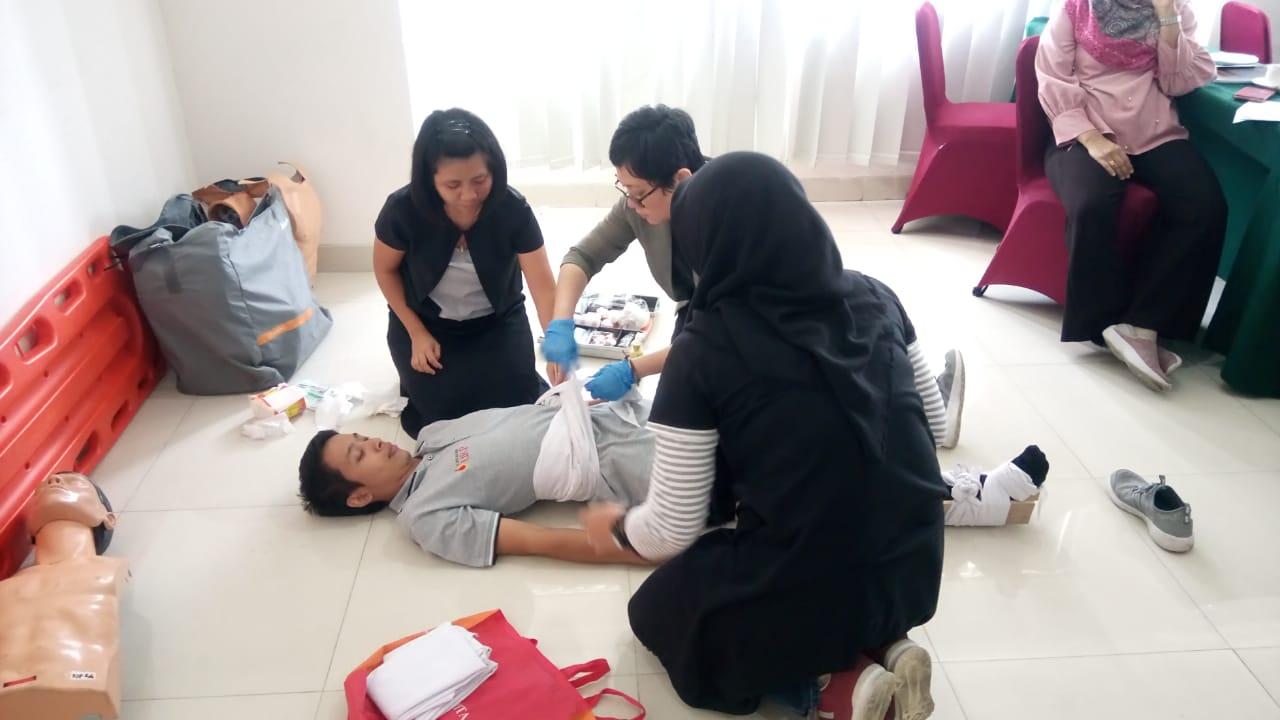 Pelatihan Petugas P3K Publik, 18 s.d 20 Desember 2018
