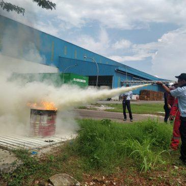 Pelatihan Petugas Kebakaran Kelas D (Fire D) Inhouse PT Argha Karya Prima Industry, 21 s.d 22 November 2018