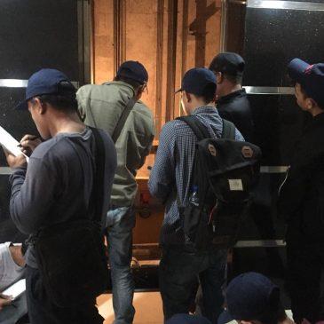 Pelatihan K3 Teknis Lift Inhouse PT Kone, 21 s.d 26 Januari 2019. Jakarta