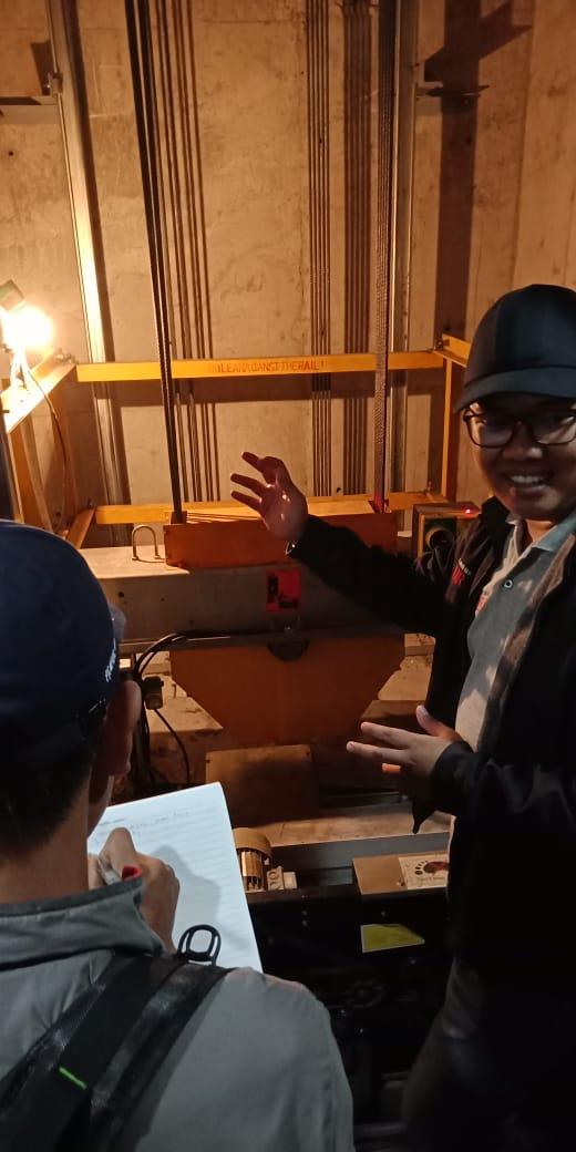 Pelatihan K3 Teknis Lift Inhouse PT Kone, 14 s.d 19 Januari 2019
