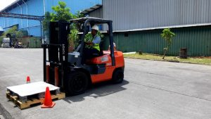 Pelatihan K3 Operator Forklift Inhouse PT Pindo Delli, 08 s.d 10 Januari 2019 Karawang