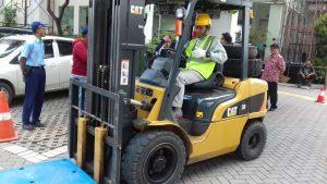 Pelatihan K3 Operator Forklift Publik, 12 s.d 14 Februari 2019