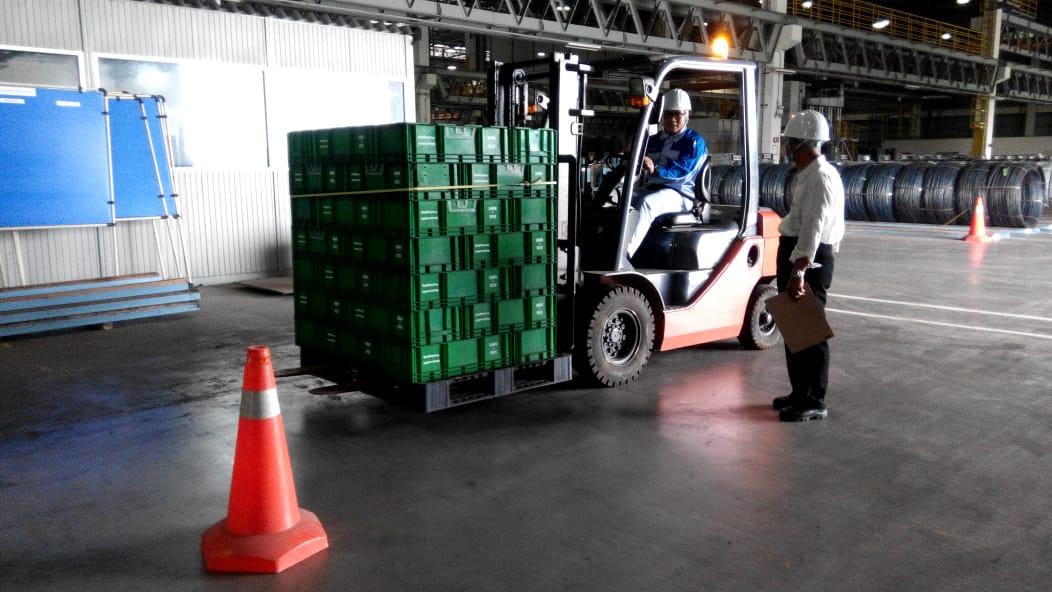 Pelatihan K3 Operator Forklift Inhouse PT Sango, 29 s.d 31 Januari 2019