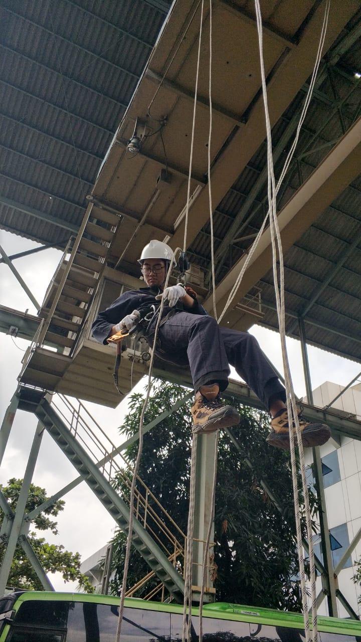 Pelatihan  K3 Tenaga Kerja Pada Ketinggian (TKPK) Tingkat 1 Publik, 28 s.d 31 Januari 2019