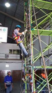 Pelatihan Tenaga Kerja Bangunan Tinggi Tingkat 2 Inhouse PT Daichindo Sukses Mandiri, 21 s.d 22 Februari 2019