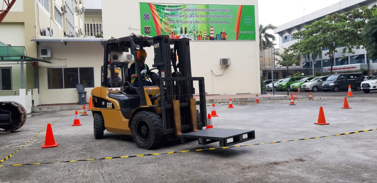 Pelatihan K3 Operator Forklift Publik, 19 s.d 21 Februari 2019 Jakarta