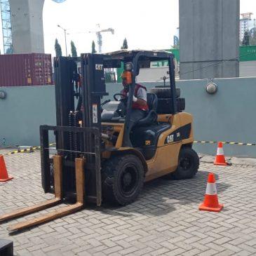 Pelaksanaan Pelatihan K3 Operator Forklift Publik, 29 s.d 31 Januari 2019 Bekasi