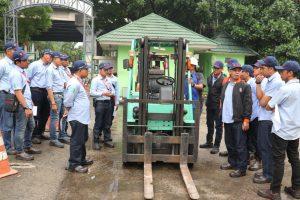 Pelatihan K3 Operator Forklift Inhouse PT Hexindo, 04 s.d 06 Maret 2019