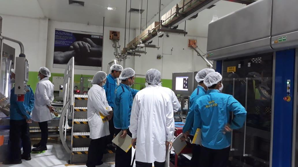 Pelatihan K3 Operator Mesin Produksi dan Perkakas  Kelas 1 Inhouse PT Unilever Indonesia, 25 Februari s.d 01 Maret 2019