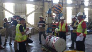 Pelatihan K3 Operator Forklift, Crane dan Rigger (Juru Ikat), Banten April 2019