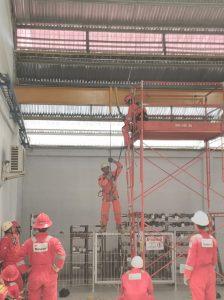 Pelatihan Tenaga Kerja Bangunan Tinggi Tingkat 2 Inhouse PT Wira Insani, 05 s.d 06 April 2019
