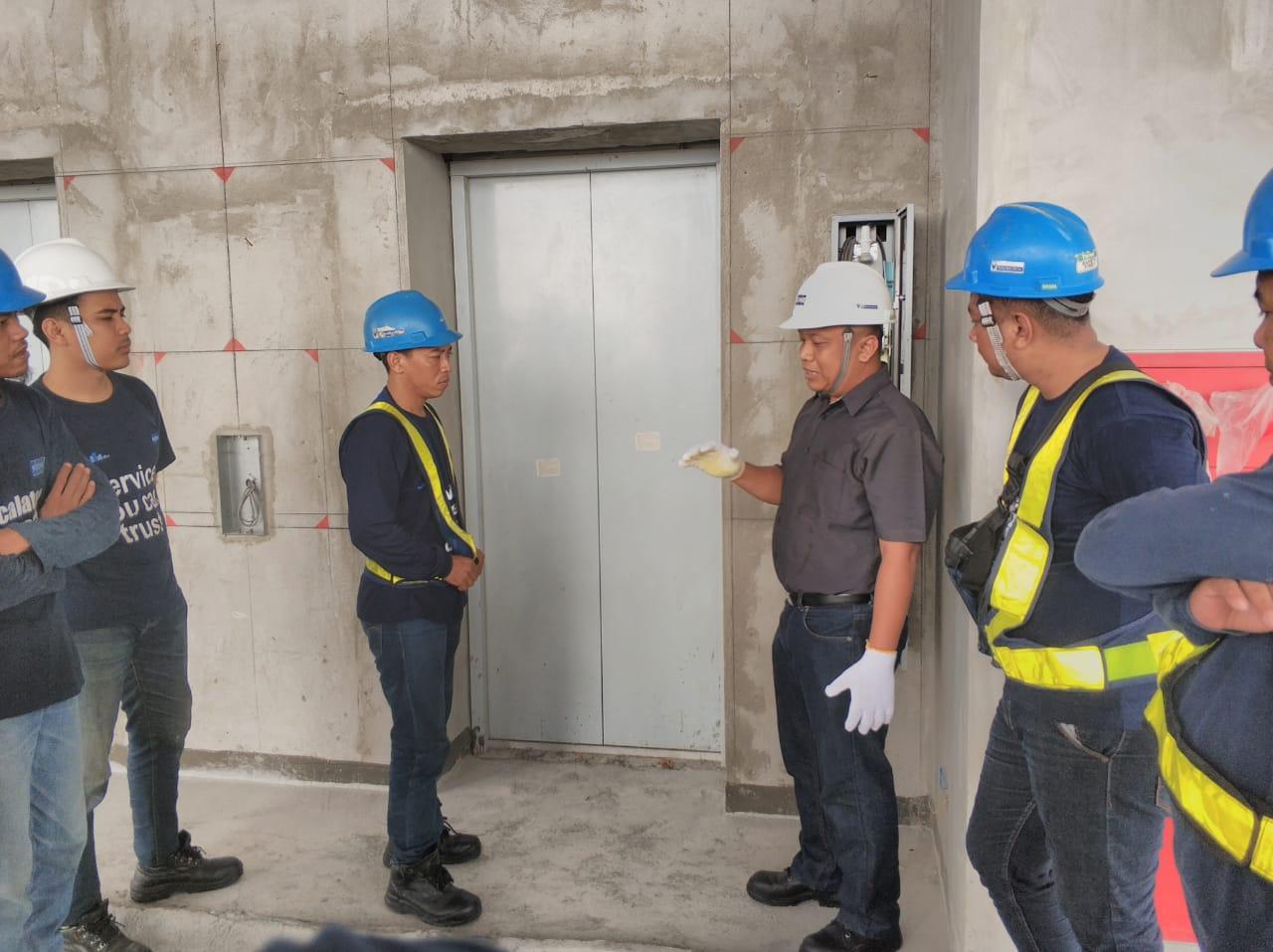 Pelatihan K3 Teknis Lift, Surabaya April 2019