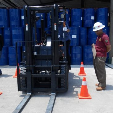 Pelatihan K3 Operator Forklift Inhouse PT Zinus Global Indonesia, 24, 31 Maret s.d 01 April 2019