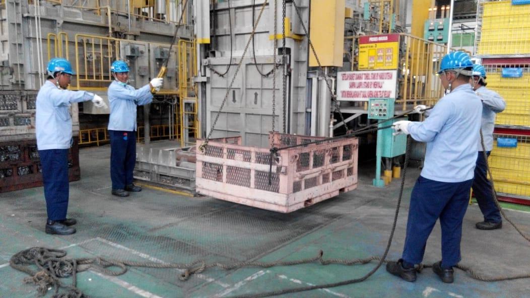 Pelatihan K3 Operator Crane Inhouse PT Yamaha Motor, 25 s.d 28 Maret 2019