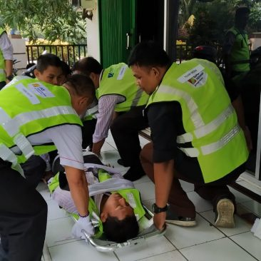 Pelatihan K3 Emegency Response Plan. Jakarta, April 2019